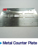 Metal Counter Plate